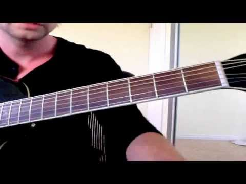 """Part 1 Guitar Lesson - """"You Had Me At Hello"""" A Day to Remember (ADTR)"""