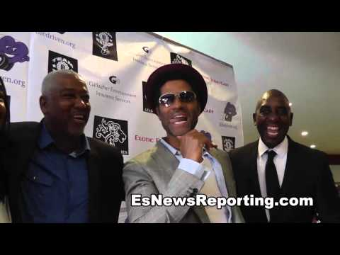 Eric Benét  on what song he walk floyd mayweather into ring with EsNews