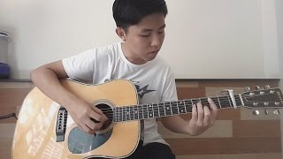 Endless Love - The Myth - Thần Thoại - Fingerstyle Guitar Cover by Tran Quoc Huy