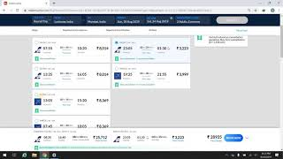 How to book airplane ticket-makemytrip screenshot 4