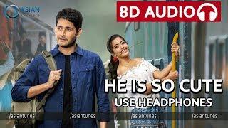 🎧 He's So Cute 8D Audio Song | Sarileru Neekevvaru | Mahesh Babu, Rashmika, Anil Ravipudi | DSP