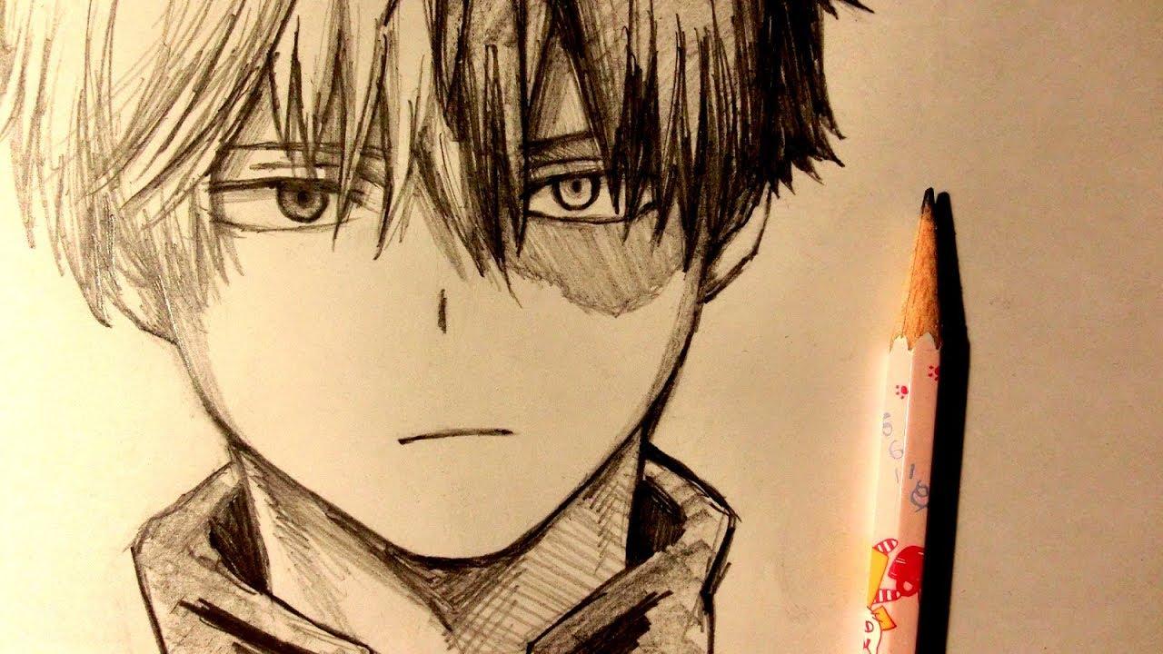 Asmr Pencil Drawing 107 Shoto Todoroki Request
