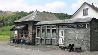 Lunch at Miller Howe Café - Grasmere, Cumbria