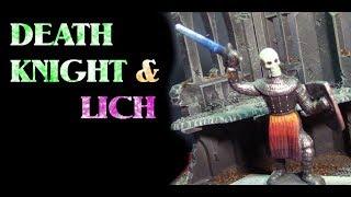 Make a Deathknight & Lich Miniature From Cheap Toys