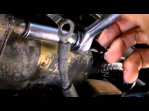 1964 Chevy Starter Wiring Diagram How To Replace The Starter On A 98 Ford Exploer Youtube