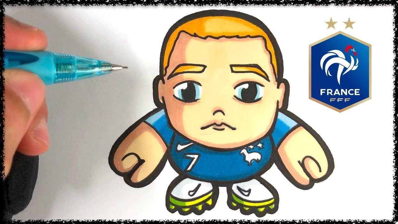 Baby Pop Comment Dessiner Antoine Griezmann