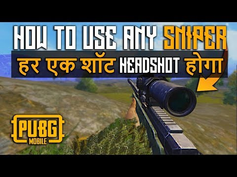 How To Use Kar98 ,M24 And AWM In Pubg Mobile Pro Tips | Sare Ke Sare Headshot.