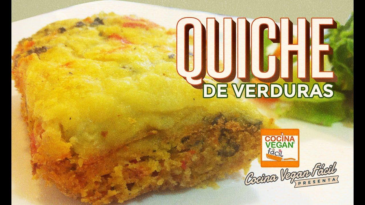 Quiche de verduras cocina vegan f cil youtube for Quiche de verduras facil