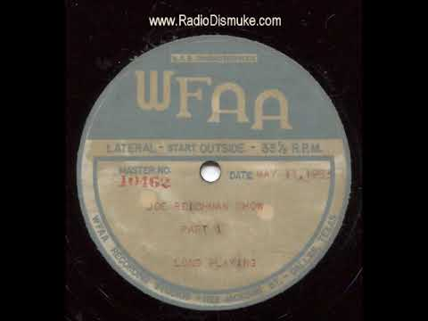 Joe Reichman Show May 11, 1953 WFAA Dallas