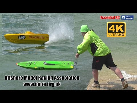 Offshore RC Powerboat RACING [*UltraHD and 4K*]