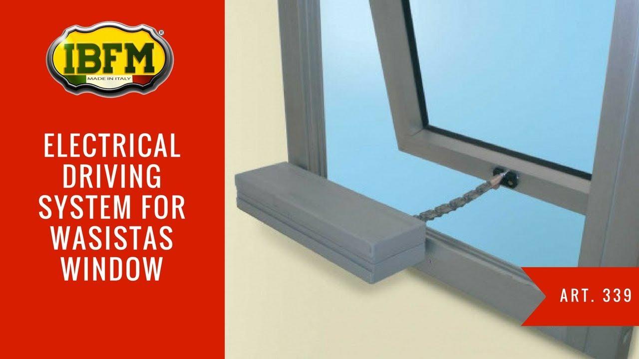I b f m art 325 azionamento elettrico per finestre for Velux elettrico