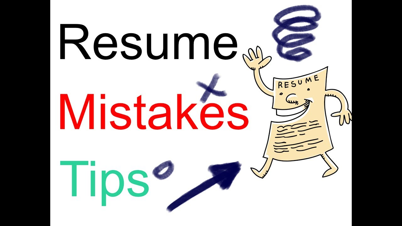resume common mistakes and useful tips youtube
