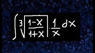 Integrales irracionales, integral con funciones irracionales, integrales con raíces, casos