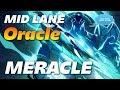 Meracle Oracle | MID LANE | Dota 2 Pro Gameplay