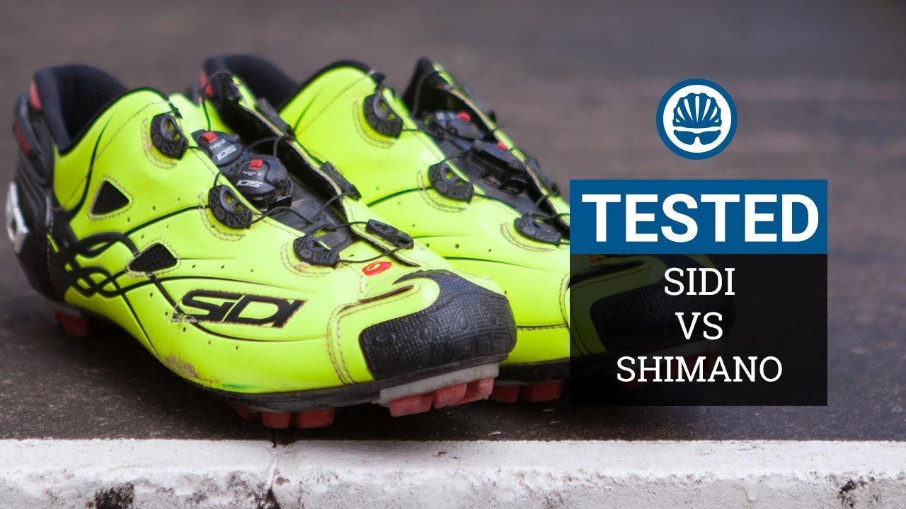 8a4ac446b Shimano SH-XC9 S-Phyre vs. Sidi Tiger XC shoes - BikeRadar