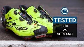 Sidi Tiger Vs. Shimano S-Phyre - Ultra Spendy XC Kicks