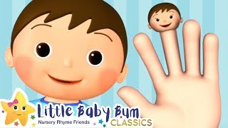 Finger Family Song + More Nursery Rhymes & Kids Songs - Little Baby Bum