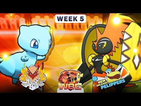 Pokemon Sun & Moon WiFi Battle • Bristol City Blazikens vs New Orleans Pelippers • WBE W5S1