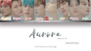 Download lagu ATEEZ (에이티즈) - AURORA (Japanese Ver.) (Color Coded Lyrics Eng/Rom/Kan)