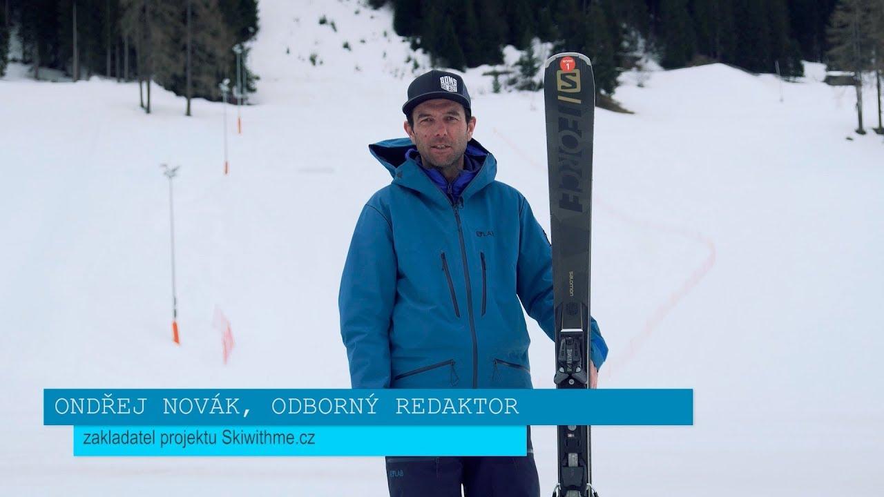 Salomon X SForce 1947 + X12TL Alpine Skis