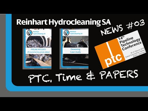 Reinhart Hydrocleaning SA NEWS #03 - 14th PTC And RHC SA Papers