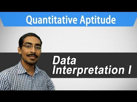 (Data Interpretation - I) :Best Quantitative Aptitude tricks (IBPS PO/SBI/GRE/CAT/competitive exams)