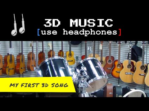 VIRTUAL 3D MUSIC #031 use any Headphones
