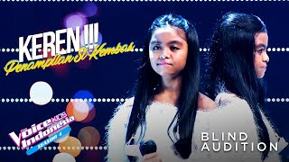 Download Chevira & Dhevira - Into The Unknown | Blind Auditions | The Voice Kids Indonesia Season 4 GTV 2021