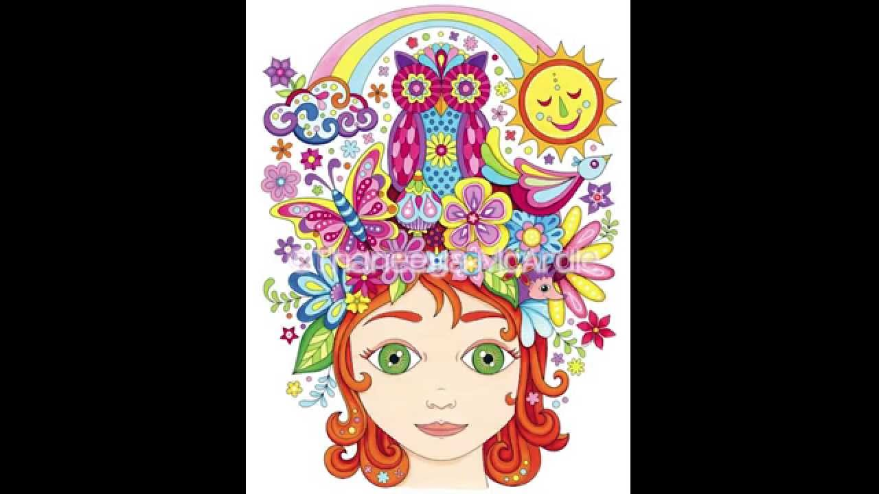 Follow Your Bliss Coloring Book Slideshow Youtube
