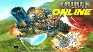 Tribes Aerial Assault Playstation 2 online