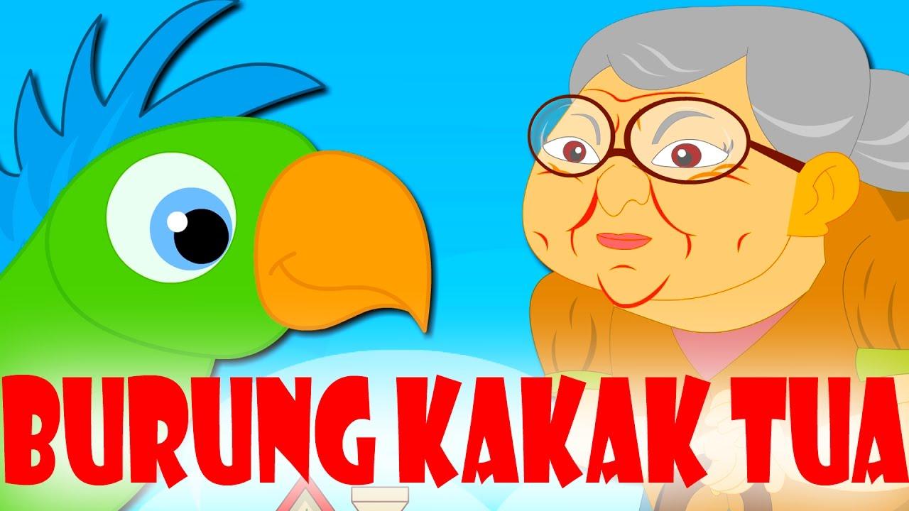 Burung Kakak Tua Lagu Kanak Kanak Melayu Malaysia Youtube
