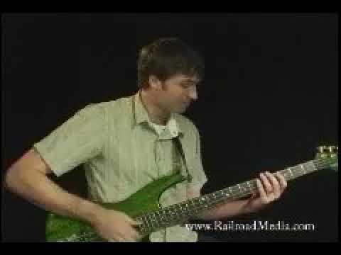 Railroad Media: Bass Slapping Technique - DVD Trailer 2