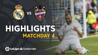 highlights real madrid vs levante ud 3 2