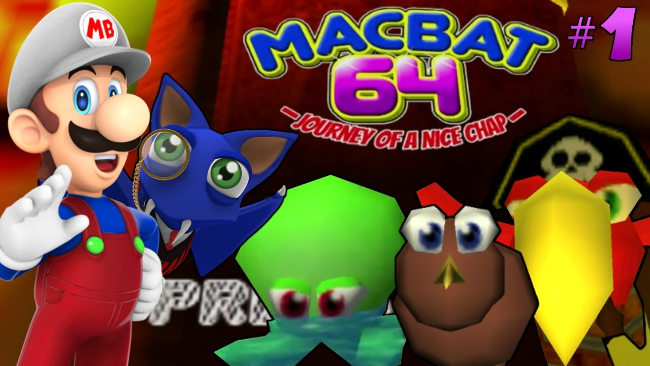 BEST N64 FAN-GAME OF THE YEAR | MacBat 64 [#1] [FAN-MADE N64 GAME] [FULL  GAME]