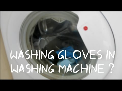 Should You Wash Goalkeeper Gloves In A Washing Machine ?  How To Clean Goalkeeper Gloves