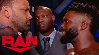 Shelton Benjamin & Cedric Alexander confront MVP: Raw, Apr. 5, 2021
