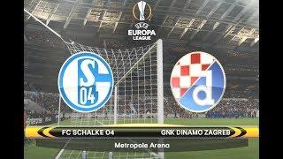 PES 2018 Europa League Cup Match 3 - FC Schalke 04 vs Dinamo Zagreb
