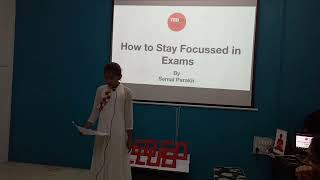 How to Stay Focused in Exams | Semal Parakh | Pocket Money Workshop