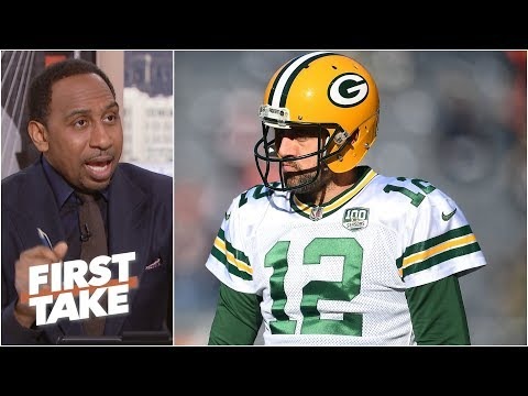 Aaron Rodgers is better than Brett Favre ever was - Stephen A. l First Take