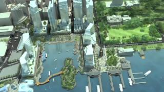 Elizabeth Quay construction commences