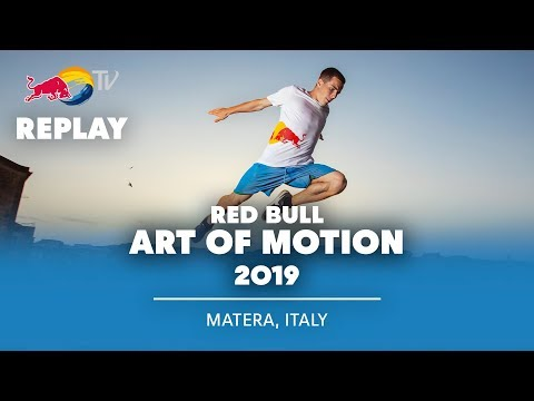 Red Bull Art of Motion Freerunning Finals LIVE | Matera, Italy