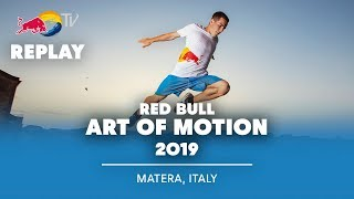 Red Bull Art of Motion Freerunning Finals REPLAY | Matera, Italy