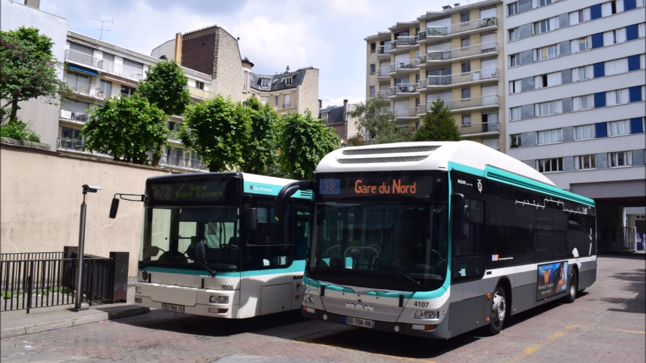 la ligne de bus ratp 28 gare saint lazare porte d 39 orl ans nouvelle version youtube. Black Bedroom Furniture Sets. Home Design Ideas