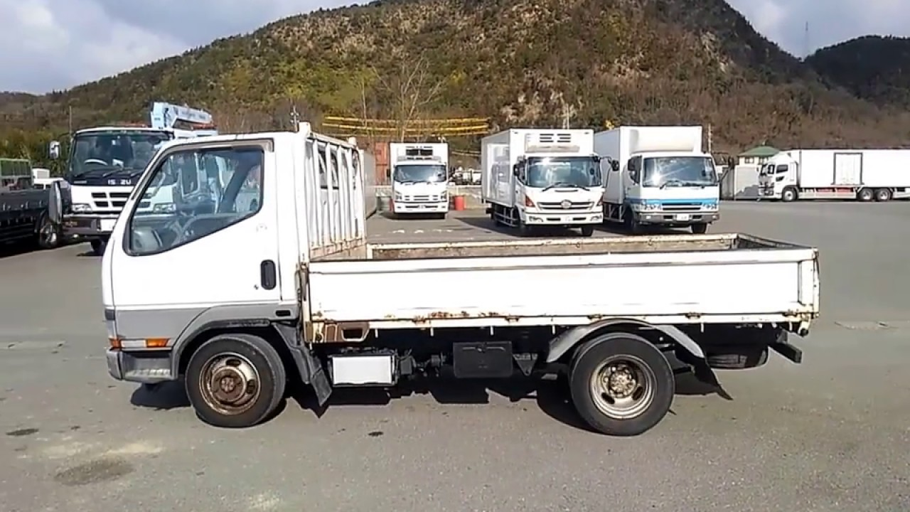 Canter truck sale double cabin 4wd japan import jpn car - Used Truck Mitsubishi Canter Guts 4wd