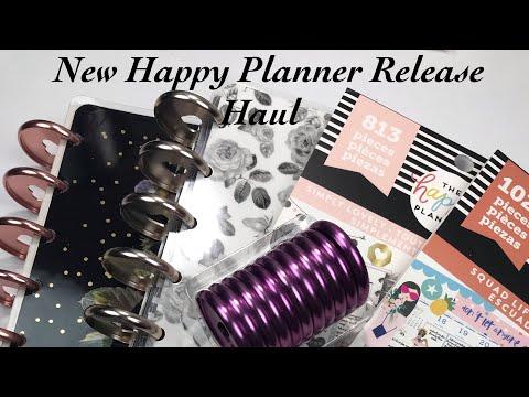 New Happy Planner Release Haul