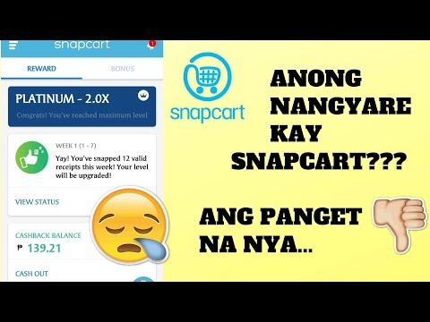 Download Pera Sa Resibo By Snapcart With Proof 1st Cash Out