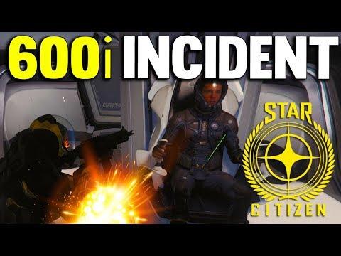 Star Citizen 3.3.7 - 600i INCIDENT - Star Citizen Gameplay #4