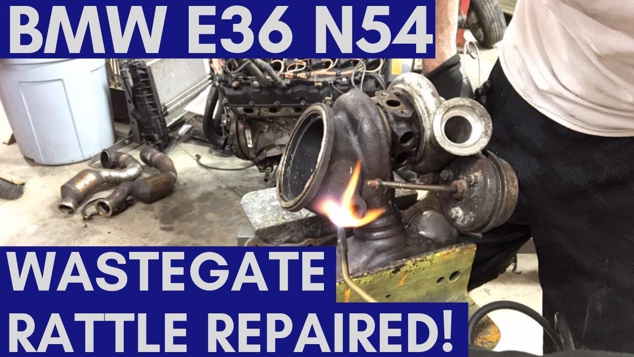 BMW N54 Wastegate Rattle - Fixed!