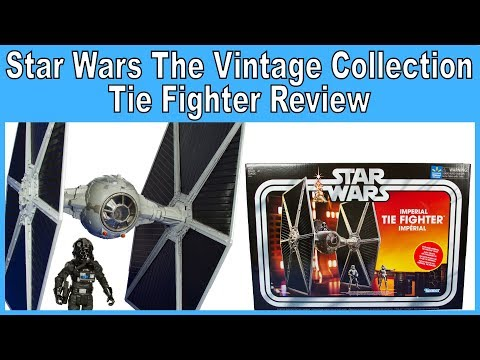 Star Wars The Vintage Collection Tie Fighter Review - Walmart Exclusive