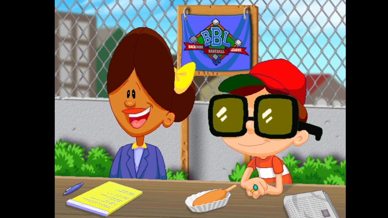backyard baseball 2003 episode 9 game 4 youtube